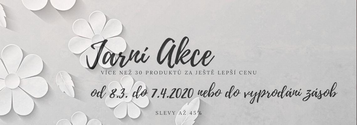 Jarní akce na VeganStore.cz. Od 8.3. do 7.4.2020 nebo do vyprodání zásob.